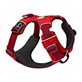 RUFFWEAR - Front Range Dog Harness, Reflective and Padded Harness for Training and Everyday, Red Sumac, Small