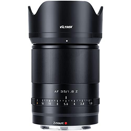 VILTROX AF 35mm F1.8 Vollformat Prime Objektiv Autofokus Porträtobjektiv kompatibel mit Nikon Z Mount Kameras Z fc Z7 II Z6 II Z5 Z6 Z7 Z50
