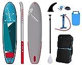 SUPwave Starboard iGO Zen 11'2 SUP - Tabla de surf de remos con remos