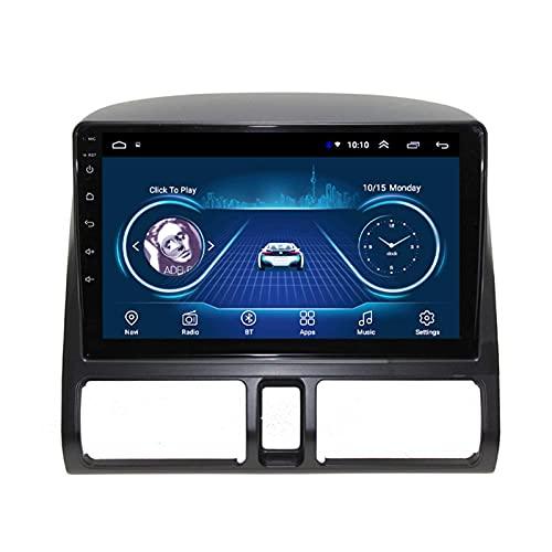 FDGBCF Navigazione GPS per autoradio Android 9.1 per Honda CRV 2001-2006. Schermo Touch da 9 Pollici Supporto per Lettore multimediale per Auto Specchio, Ingresso ausiliario, 2G + 32G-Otto Core