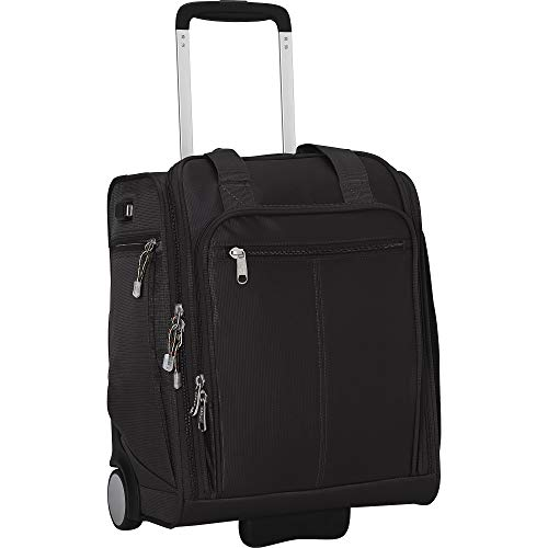 eBags Kalya Underseat Carry-on 2.0 with USB Port (Black)