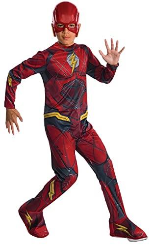 Marvel - Disfraz de Flash superhéroe para niños, infantil 5-7 años (Rubie's 630861-M)