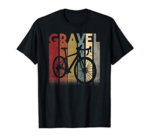 Gravelbike Gravel Rennrad Fahrrad Geschenk retro vintage T-Shirt