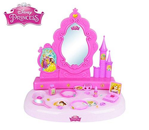 Disney 071250 Specchiera da Tavolo Princess Vanity Studio con 12 Accessori. Media Wave Store