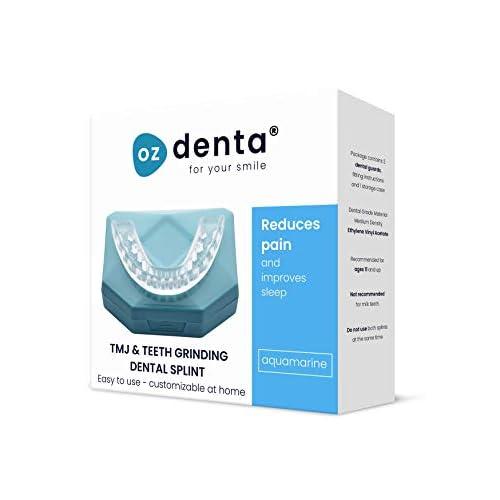 2 x OzDenta Bite Dentale Notturno Automodellante. Apparecchio anti Bruxismo - anti Digrignamento dei denti e disturbi dell' ATM