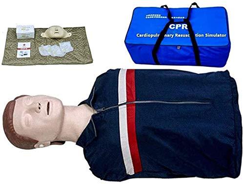 SJKZ CPR Modelo Recuperación Primeros Auxilios Enseñanza Enseñanza Manikin Cardiopulmonar De Resucitación Simulador Artificial Respiración Función Completa Móvil 1031