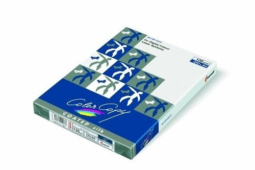 MONDI BUSINESS Color Copy coated, silk Papier A4 250 Blätter 135 g / m² Laserdrucker / Laserkopierer