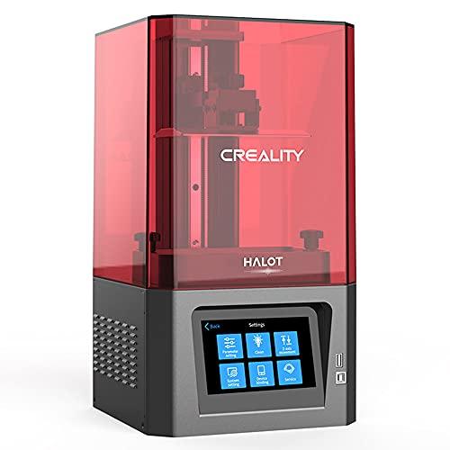 Comgrow Creality LD002R UV Resina Fotocurado LCD Impresora 3D Pantalla Táctil Inteligente a Color de 3,5'' Impresión Fuera de línea 119 * 65 * 160mm