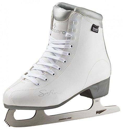 Tecnopro Damen Complet Marina 1.0 Feldhockeyschuhe, Weiß (White/Silver/White 901), 39 EU