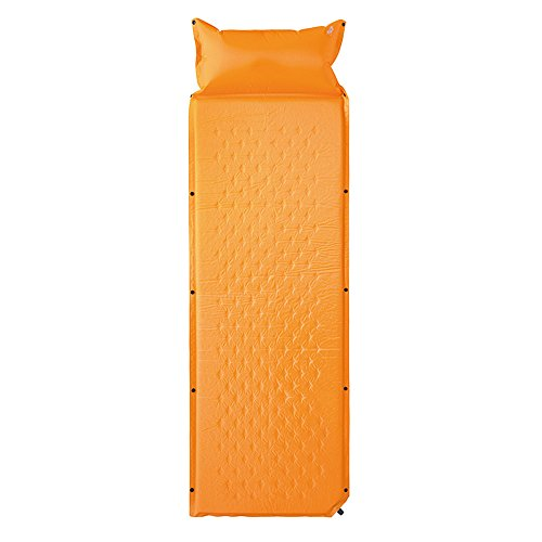XY&CF Lit d'air extérieur double ménage pliant tapis de couchage tente extérieure Portable automatique Ultralight déjeuner d'étudiants pause coussin gonflable 180 * 60 * 2.5cm (Couleur : A)