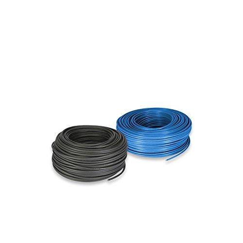 PuntoEnergia Italia - Cable electrico Set 10mm 10mt Azul y 10mt Negro - CAVENE10mt-10