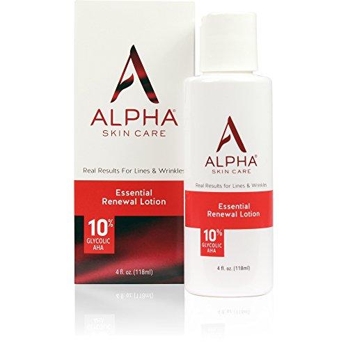 professional Alpha Skin Care Essential Renewal Lotion | Anti-Aging Formula | 10% Glycol-Alpha-Hydroxy Acid…