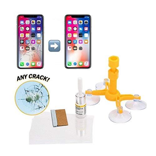 StickersLab – Kit de reparación de pequeñas grietas del cristal móvil en solo 20 minutos