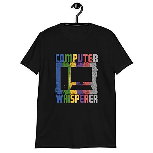 Computer Enthusiast Programmer Shirt Whisperer Gift Idea Computer Whisperer Tshirt