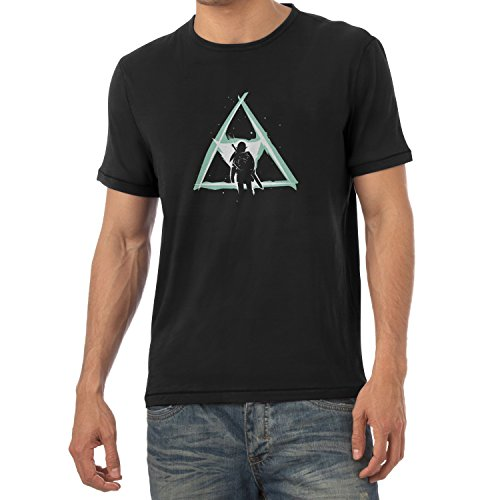 Nerdo - Triforce Light - Herren T-Shirt, Größe XXL, schwarz