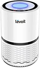 LEVOIT H13 True HEPA Filter, Purifiers for Home Allergies and Pets, Smokers, Smoke, Dust, Mold, and Pollen, Air Cleaner for Bedroom, Large Room with Optional Night Light, 1Pack, White
