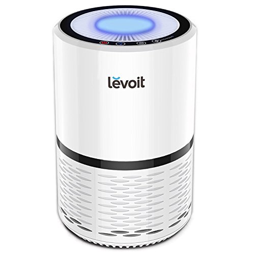 LEVOIT Air Purifier for Home Smokers Allergies and Pets Hair, True HEPA Filter, Quiet in...