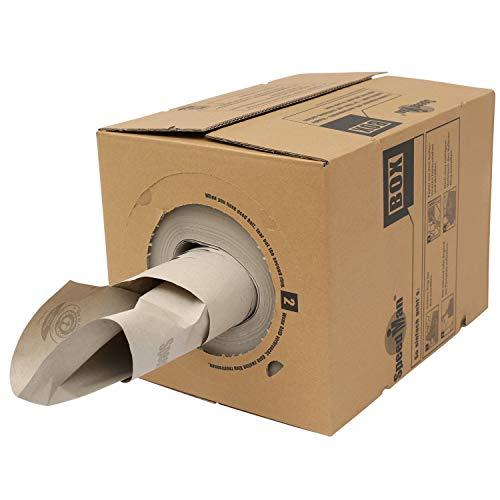 Speedman återvunnen papperslåda – skyddande papper tom fyllning för förpackning – 390 mm x 450 m