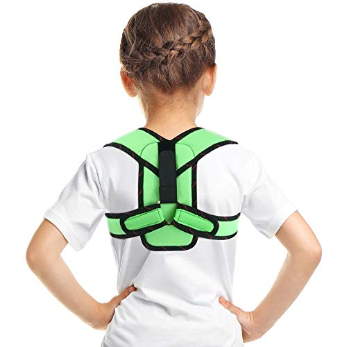 ORTONYX Kids Clavicle Support Posture Corrector Brace / ACJB2407-GRN