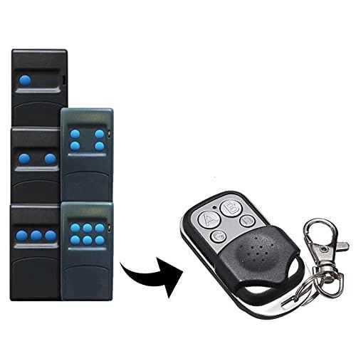 Emisor manual compatible con SEAV TXS BE HAPPY S1, HAPPY S3, BE SMART S2, 433,92 MHz, mando a distancia para apertura de puertas de garaje