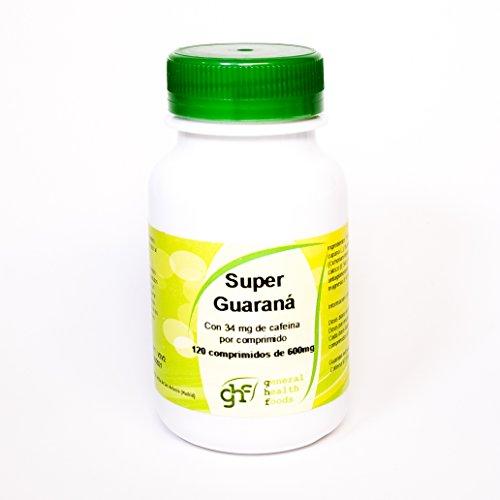 Ghf Super Guaraná, 120 comprimidos 600 mg