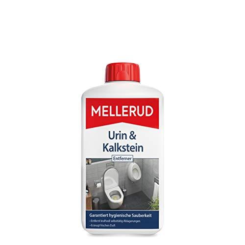 MELLERUD Urin & Kalkstein Entferner – Effektives Reinigungsmittel zum Entfernen von Ablagerungen im WC – 1 x 1 l