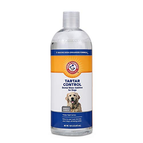Arm and Hammer Advanced Care Dental Water Additive with Baking Soda for Dog's