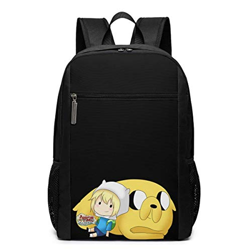 School Travel Business Bag Laptop Backpack Finn and Jake 17 Inch Backpack, School Bag