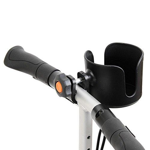 Getränkehalter für Rollstühle / Rollatoren / Gehhilfen / Fahrräder / Knie-Rollator / Knie-Scooter