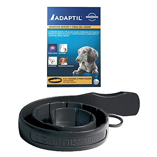 Adaptil Calm - Anti-stress per i cani - Paure, rumori forti, di apprendimento, di approvazione - Collare M / L per medie e cani di taglia grande