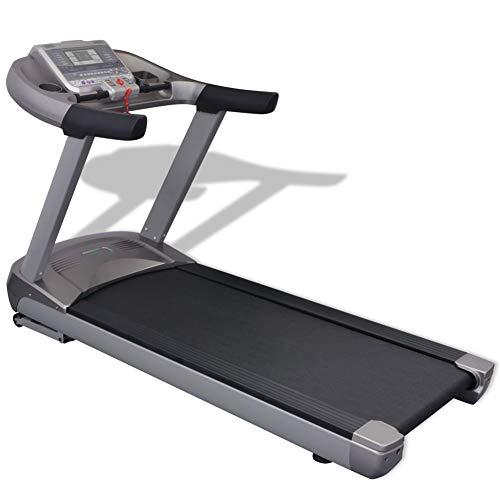 SOULONG Fitness-Laufband | 99 Programme | Slim Laufband LCD Display | bis 180 kg belastbar | Heimtrainer Fitnessgerät