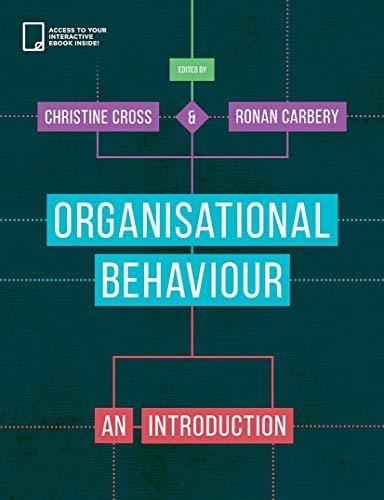 Organisational Behaviour: An Introduction