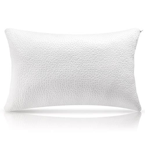 Milemont Shredded Memory Foam Pillow, Bed Pillows, Cooling Pillow for Side Back Sleepers with...