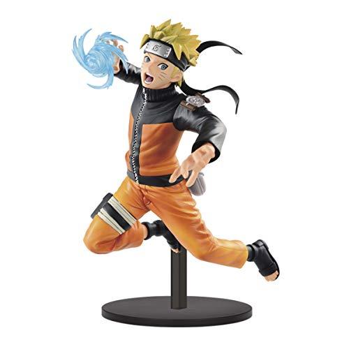 Banpresto Naruto Shippuden Vibration Stars Naruto Uzumaki 7' Figure Statue