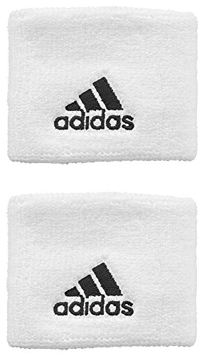 adidas Herren Wristband Tennis, White, One size, Z43424