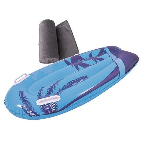Backboards Niños Tablas Paddle Surf,Inteligente Hinchable Tablas Paddle Surf,Cama Flotante Antideslizante,para Principiantes Jóvenes Verano,B