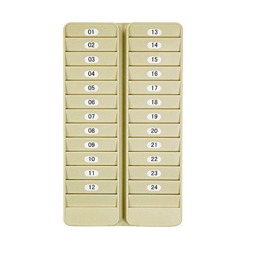 Pyramid 500-24 Badge Rack, 24 Pocket