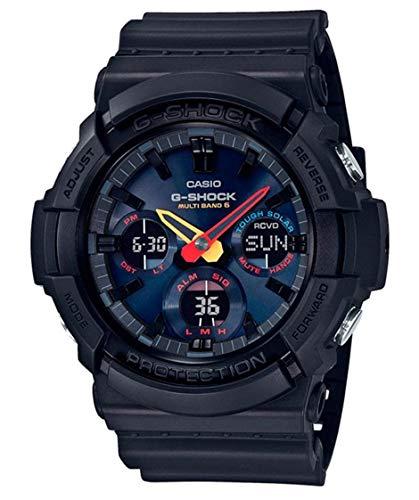 Casio Unisex Analog – Digital Quarz Uhr mit Kautschuk Armband GAW-100BMC-1AER