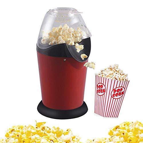 Best Bargain Portable Home Popcorn Machine, Electric Popcorn Machine 110V / 220V Mini Hot Air Pop-up...