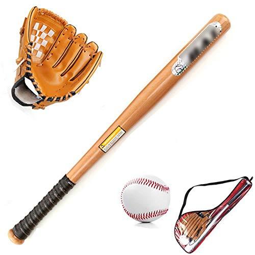 ZYHJAMA Junior-Baseball-Set für Unisex-Kinder für Kinder 1 Baseballstange + 1 Handschuh Links (10,5
