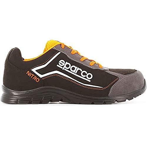 Sparco - Zapatillas Nitro S3 Black/Gris talla 42