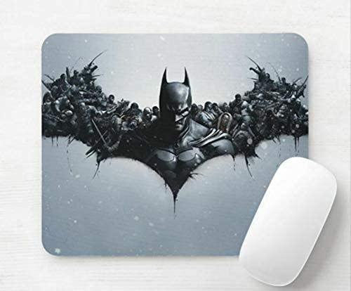 Batman Arkham Origins Alfombrillas de ratón Alfombrilla de ratón para Juegos Antideslizante de Goma Rectangular de Oficina Mouse Pad
