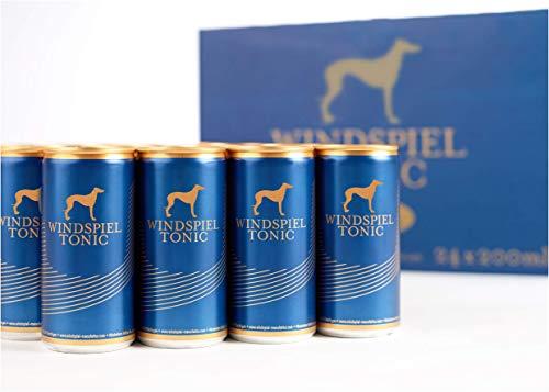 Windspiel Tonic Water Dosen (24 x 200ml) - 24er Set als Filler für Cocktails und Longdrinks (inkl. Pfand)
