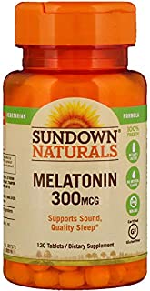 Sundown Naturals Melatonin 300 mcg, 120 Tablets Thank you to all the patrons We hope that he has gained the trust from you again the next time the service