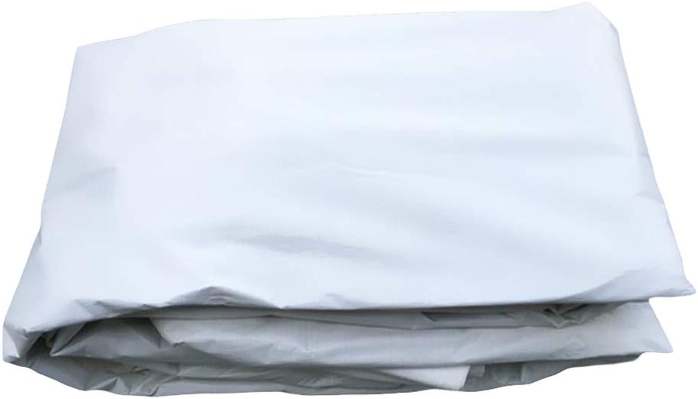 Doppelseitige weiße Plane-Reversible Plane-regendichter Sonnenschutz Wasserdichtes Plastikgewebe B07HQH1VV6  Explosive gute Güter