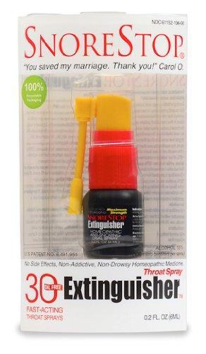 SnoreStop Extinguisher 30 Spray Snore Relief