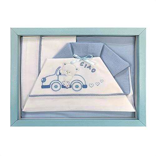 NADA HOME Kinderwagen-Set, 3-teilig, aus Baumwolle, 2516