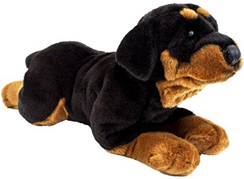 Brubaker Rottweiler liegend ca. 44 cm Plüschtier Stofftier