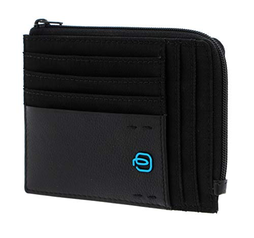 PIQUADRO Porta Carte Credito Pulse Connequ | PU1243P16-Chevron/Nero
