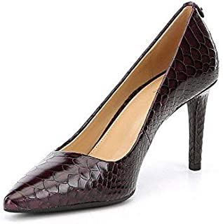 Michael Kors Womens Dorothy Leather Pointed Toe Classic Pumps, Purple, Size 6.0